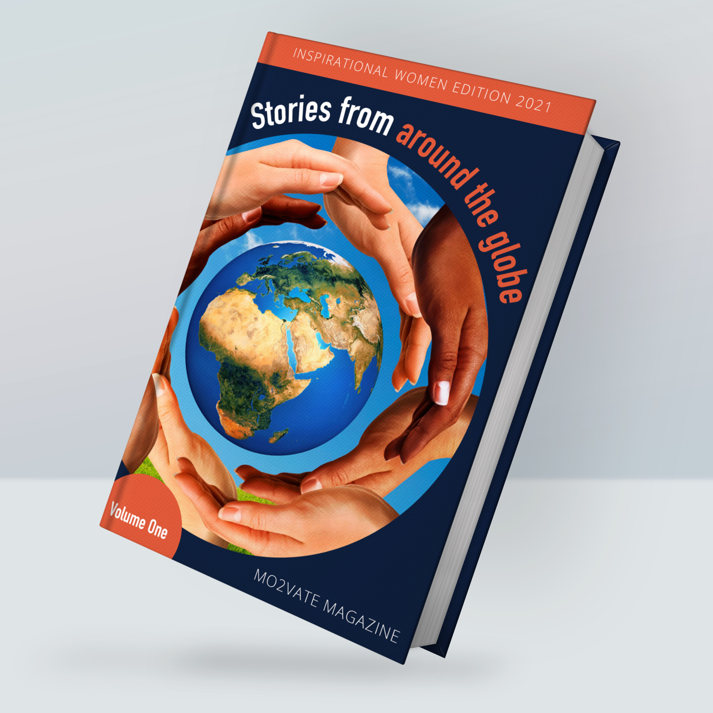 Stories Book Cover Mockup